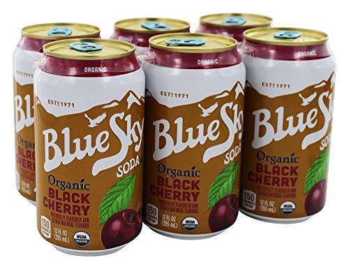 Blue Sky - Organic Cane Sugar Soda Black Cherry - 6 Pack