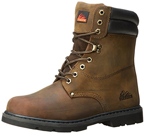 Itasca Men's Force 10 Safety Toe Work Boot, Brown, 13 M US