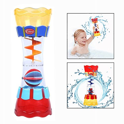 OFKPO Baby Bath Bathtub Toy For Toddlers Rotating Cylinder Flow Toys Spin Ball Cup Toys For Toddlers