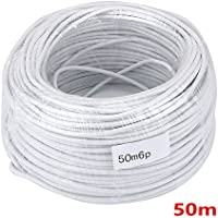 MAOTEWANG 50M 2.546P 6 wire cable for video intercom/Video Door Phone doorbell Cable /wired Intercom Cable