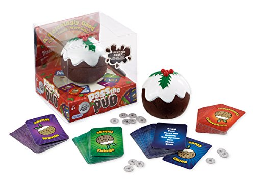 Gibsons Pass The Pud Family Game With Amazonbasics Aaa Pre Charged
