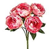 Vickerman FA174703 Pink Everyday Peony Bush
