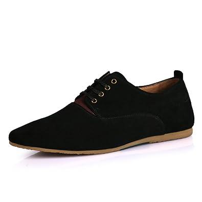 Primavera/verano zapatos transpirables de hombres/ British punta de zapatos corte bajo/ mocasines