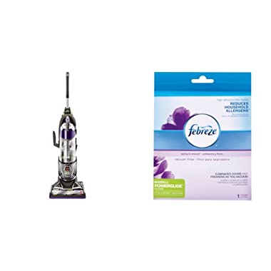 Bissell 20431 Powerglide Lift Off Pet Plus Upright Bagless Vacuum with Febreze Style 12141 PowerGlide Lift-Off Pet Replacement Filter