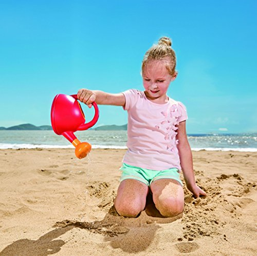 51sO RM2TTL - Hape Sand and Beach Toy Watering Can Toys, Red