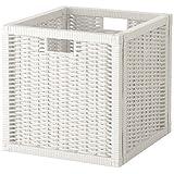 box bo te de rangement pour tag re ikea kallax blanc cuisine maison. Black Bedroom Furniture Sets. Home Design Ideas