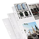Hama Photo Pages DIN A4 for 4-8 Photo 10x15cm White Pack 10 [9787]