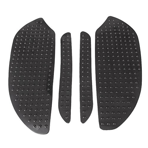 Luckmart Black Tank Traction Pad Side Gas Knee Grip Protector for HONDA CBR600RR 2003-2006 ()
