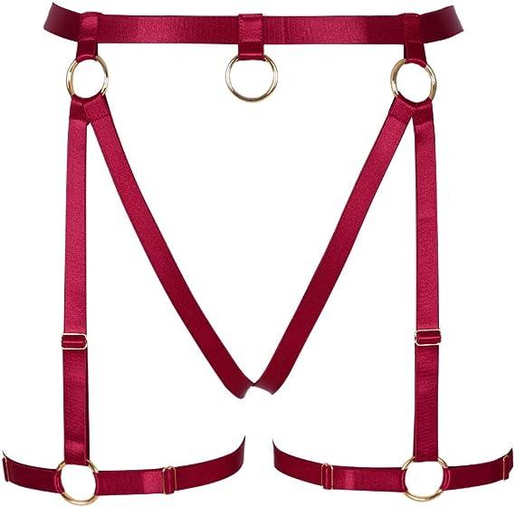 BBOHSS - Arnés para Mujer con Correa para la Cintura, Color Rojo ...