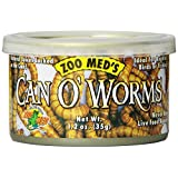 Zoo Med Laboratories SZMZM42 Can O Worms, 1.2-Ounce