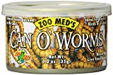 Kyпить Zoo Med Laboratories SZMZM42 Can O Worms, 1.2-Ounce на Amazon.com