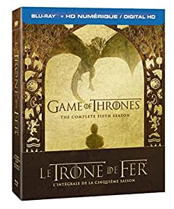 Game of Thrones: Season 5 [Blu-ray + Digital Copy] (Bilingual)