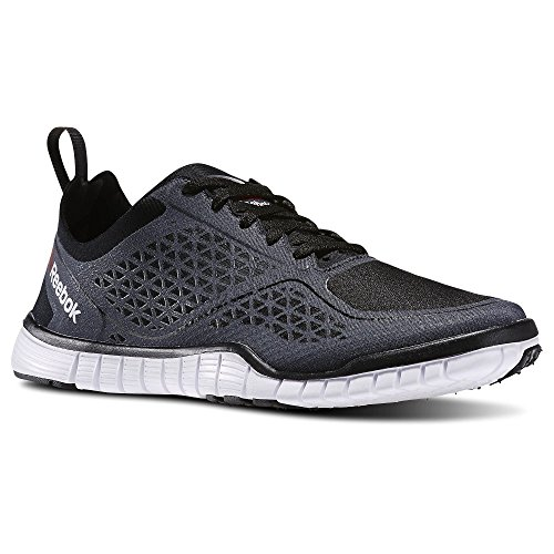Reebok Women's Z Quick Lux 3.0 Training Shoe, Gravel/Black/White, 8.5 M US