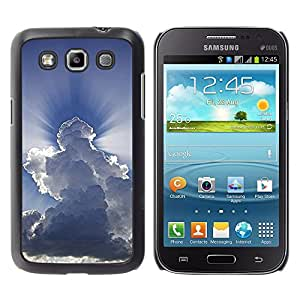 Shell-Star Arte & diseño plástico duro Fundas Cover Cubre Hard Case Cover para Samsung Galaxy Win / I8550 / I8552 / Grand Quattro ( God Awe Inspiring Clouds Blue Sky )