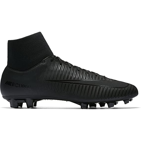 Nike Men s Mercurial Victory VI Dynamic Fit FG Soccer Cleats (Black Black e57862532
