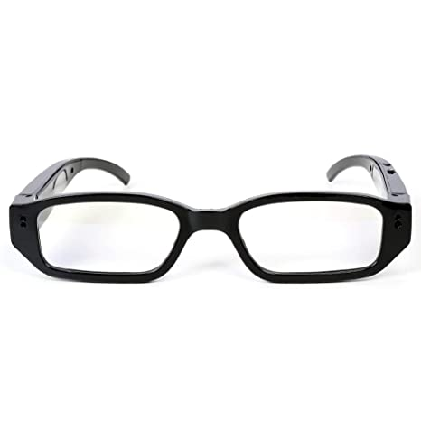 OOLIFENG Gafas Cámaras 1080P Full HD, Cámara Espia Video VCR, Videocámara DVR De Mini