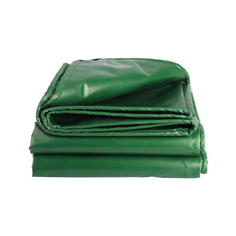 muchas sorpresas 105m Kffc  Lona, Cubierta Cubierta Cubierta Impermeable de Tela para Camiones, toldos para Acampar al Aire Libre, 1.5  2 M-10  13 M (Personalizable), verde (Tamaño   10  8 m)  últimos estilos