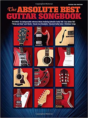 Amazon.com: The Absolute Best Guitar Songbook Guitar Tab Edition ...
