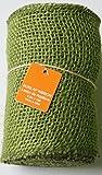 Olive Green Burlap Ribbon Roll - 5.5'' x 15'