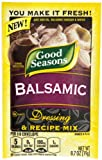 Good Seasons Balsamic Salad Dressing & Recipe Mix .7 oz (Pack of 6)