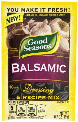 Good Seasons Balsamic Salad Dressing & Recipe Mix .7 oz (Pack of 6) (Best Balsamic Dressing Recipe)