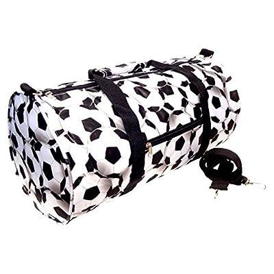 Soft Weekender Barrel Gym Duffle Bag by TravelNut® Best Back to School College Supplies
