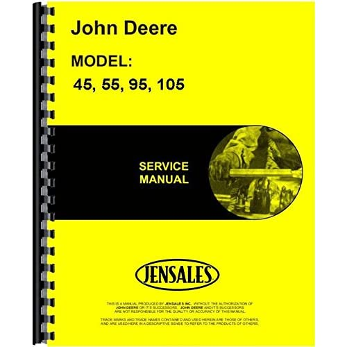 John Deere 45 55 95 105 Combine Service Manual big image