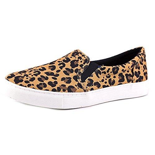 143 Girl Olla Women US 7.5 Tan Fashion Sneakers
