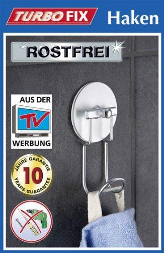 WENKO TurboFIX para toalla - aluminio - Sin agujeros ...