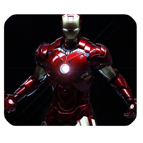 Custom Marvel Comics Hero Iron Man High Quality Printing Square Mouse Pad Design Your Own Computer Mousepad