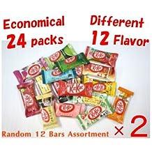 "Different 12 flavor Japanese Kit Kat × 2 bags, ""TONOSAMA CANDY"""