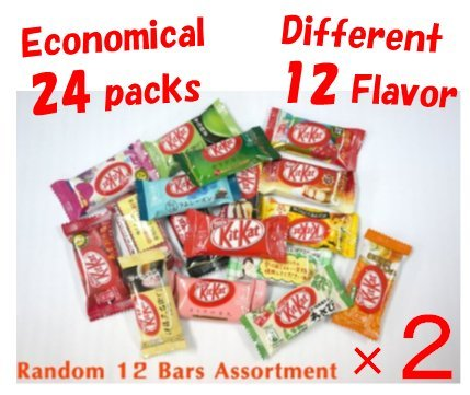 - Different 12 flavor Japanese Kit Kat × 2 bags,