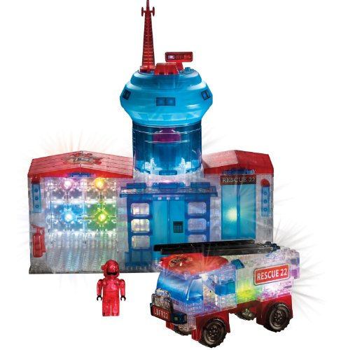 Cra-Z-Art Lite Brix Fire Station and Truck - Buy Online in UAE ...