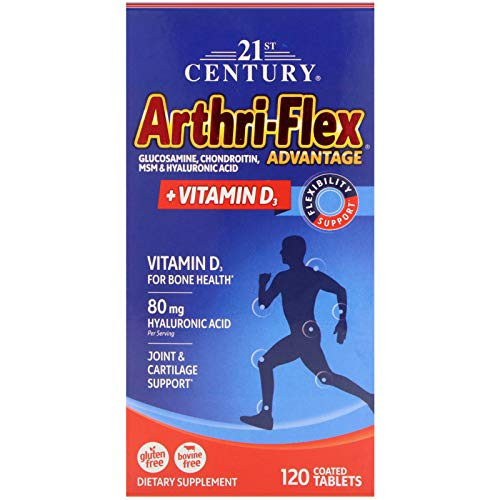 (21st Century, Arthri-Flex Advantage, Vitamin D3, 120 Coated Tablets )