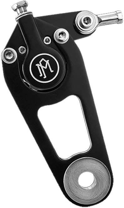 BLACK CONTRAST CUT Performance Machine PM Springer Brake Caliper Kit 11.5 INCH ROTOR