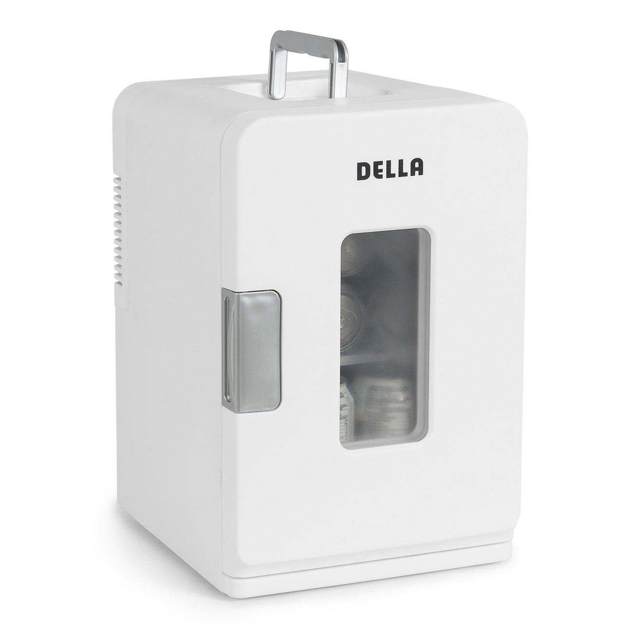 DELLA Portable Mini Fridge Cooler and Warmer 15L Home,Office, Car, Rv Camping, Boat