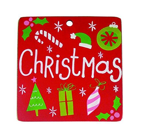 DEMDACO Seasons Christmas and New Years Countdown Sign -