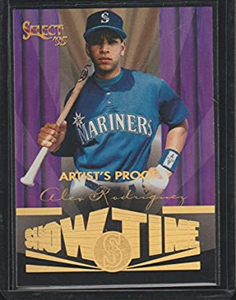 1995 Select Alex Rodriguez Mariners Showtime Artist Proof