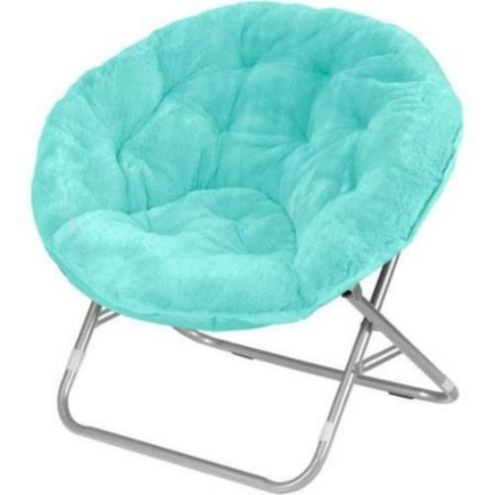 Amazon.com: Mainstays Faux Fur Saucer Chair, Aqua Wind (Wind Aqua) (1):  Home U0026 Kitchen Part 65
