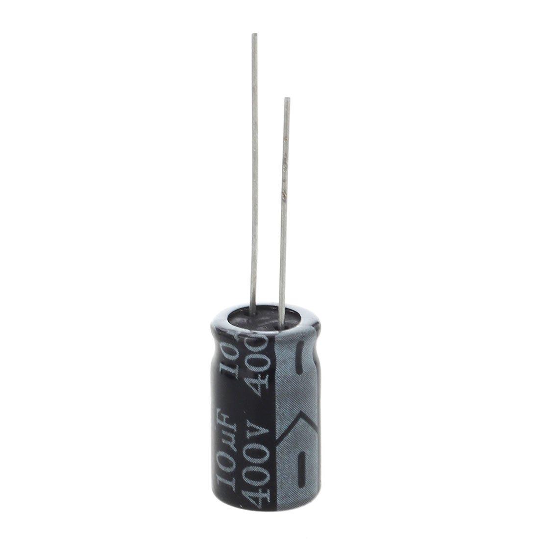 Gaoominy 10 x 400V 10uF bassa ESR impedenza condensatore elettrolitico