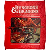 Bioworld Dungeons and Dragons Throw Blanket