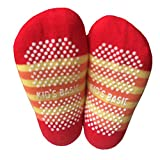 6 Pairs Anti-Slip Assorted Non Skid Kids Cozy Ankle Cotton Socks Baby Boys Girls Toddler Walker Stretch Cartoon Footsocks Sneakers Crew Socks With Grip For 12-36 Months Baby + Free Gift Kakalu