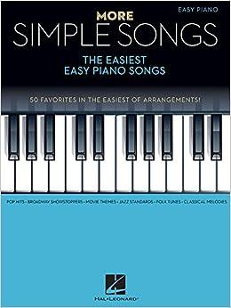Book More Simple Songs: The Easiest Easy Piano Songs