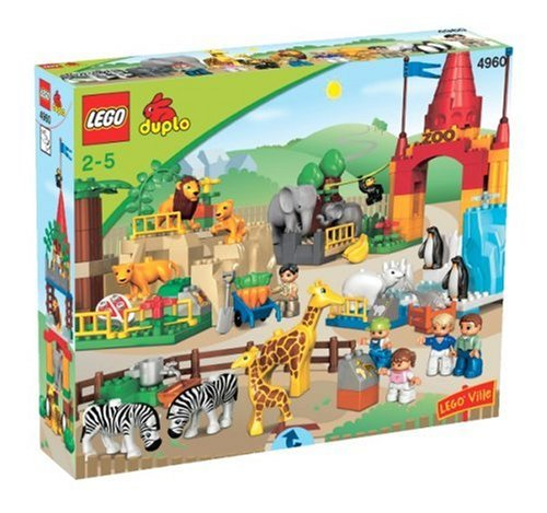 image gallery lego duplo zoo set. Black Bedroom Furniture Sets. Home Design Ideas