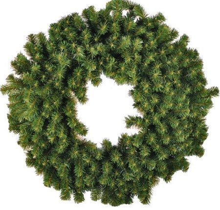 Queens of Christmas WL-GWSQ-08 Sequoia Wreath, 8' by Queens of Christmas