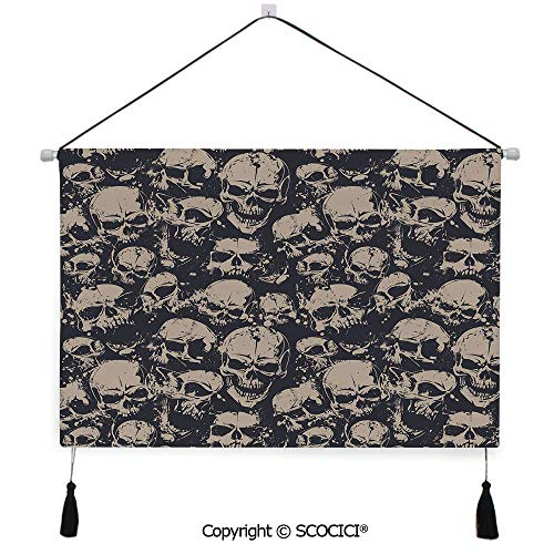 SCOCICI Durable Material Multipurpose W24xL17inch Wall Hanging Tapestry