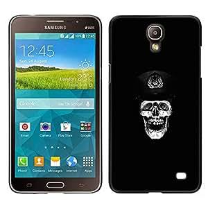 Caucho caso de Shell duro de la cubierta de accesorios de protección BY RAYDREAMMM - Samsung Galaxy Mega 2 - Cráneo de Rusia