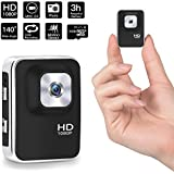 1080P Mini Hidden Camera,DigiHero 16GB Mini Camera.Support Looping Recording Video/Snapshot/Motion Detection,Portable Mini Video Recorder for Home and Office (16GB TF Card Included)