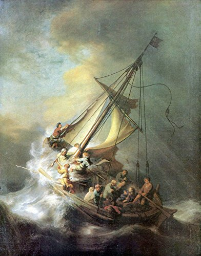 The Storm on the Sea of Galilee (Painting) painted by Rembrandt