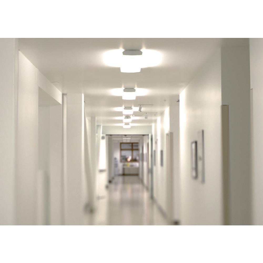 AntLux 72W LED Office Lights Ceiling 4FT LED Wraparound Light, 8000 Lumens, 4000K Neutral White, 4 Foot Flush Mount Wrap Shop Light Fixtures for Garage Workshop, Fluorescent Light Replacement, 4 Pack by ANTLUX (Image #7)